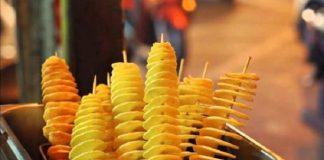 Những món ăn ngon trên đường phố Hàn Quốc