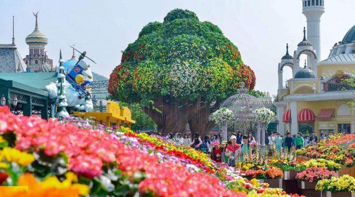 Những công viên nổi tiếng ở Hàn Quốc