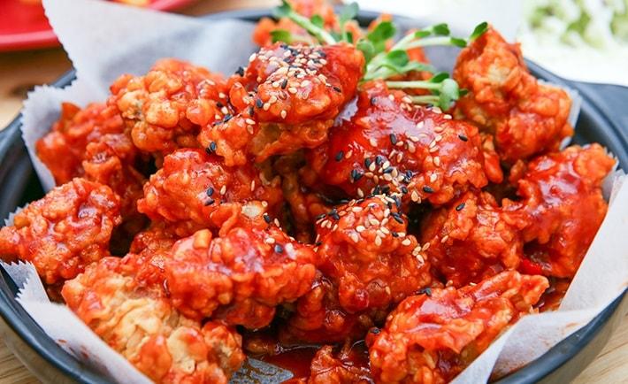 Gà nướng Hàn Quốc