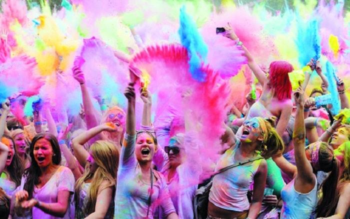 Lễ hội Holi ở Ấn Độ