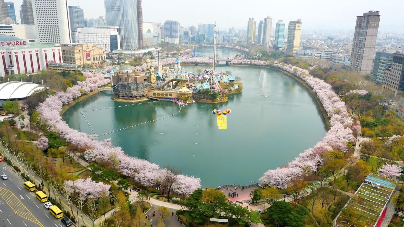 Hồ Seokchon, thủ đô Seoul