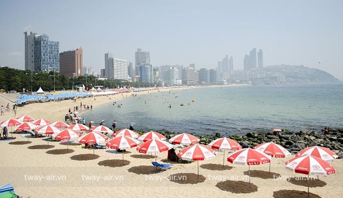 Bãi biển Haeundae – Busan