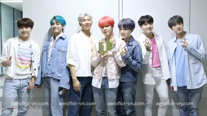 BTS là nhóm nhạc nam được yêu thích nhất tại Hàn Quốc và trên thế giới