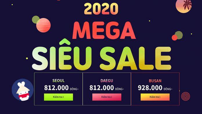 Siêu khuyến mãi rẻ nhất năm từ T'way giá vé chỉ 821.000 VND